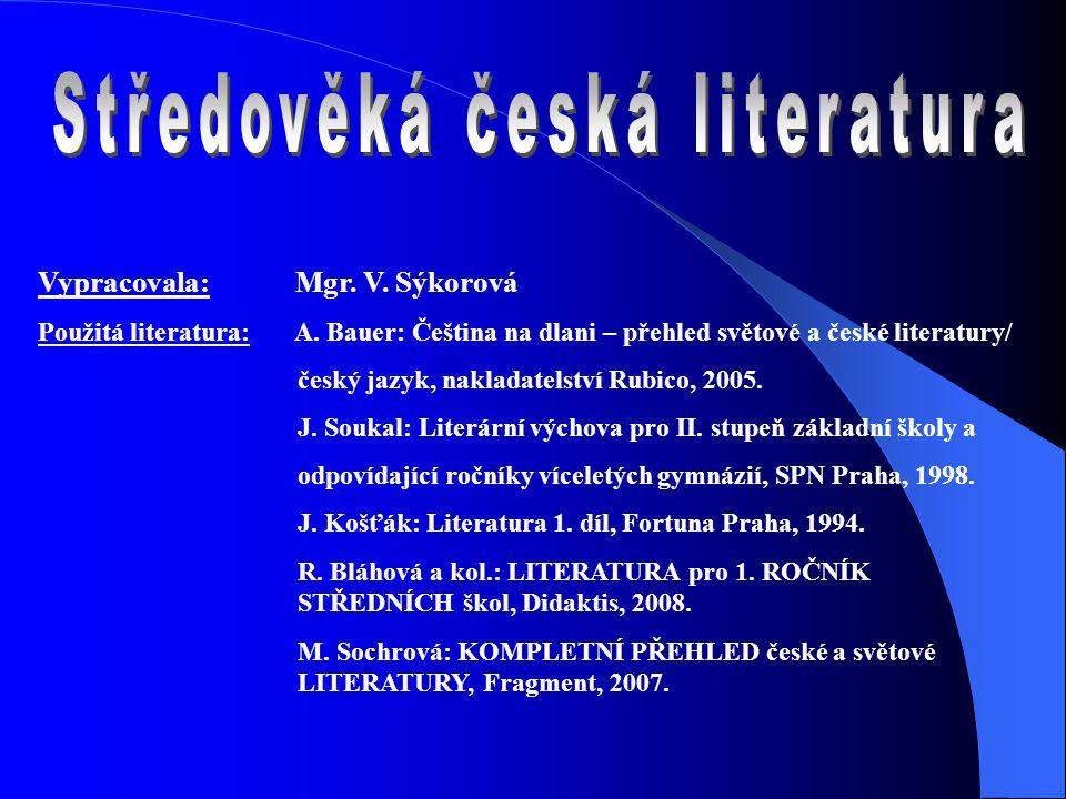 Jak se jmenuje středověké české drama (40.léta 14.