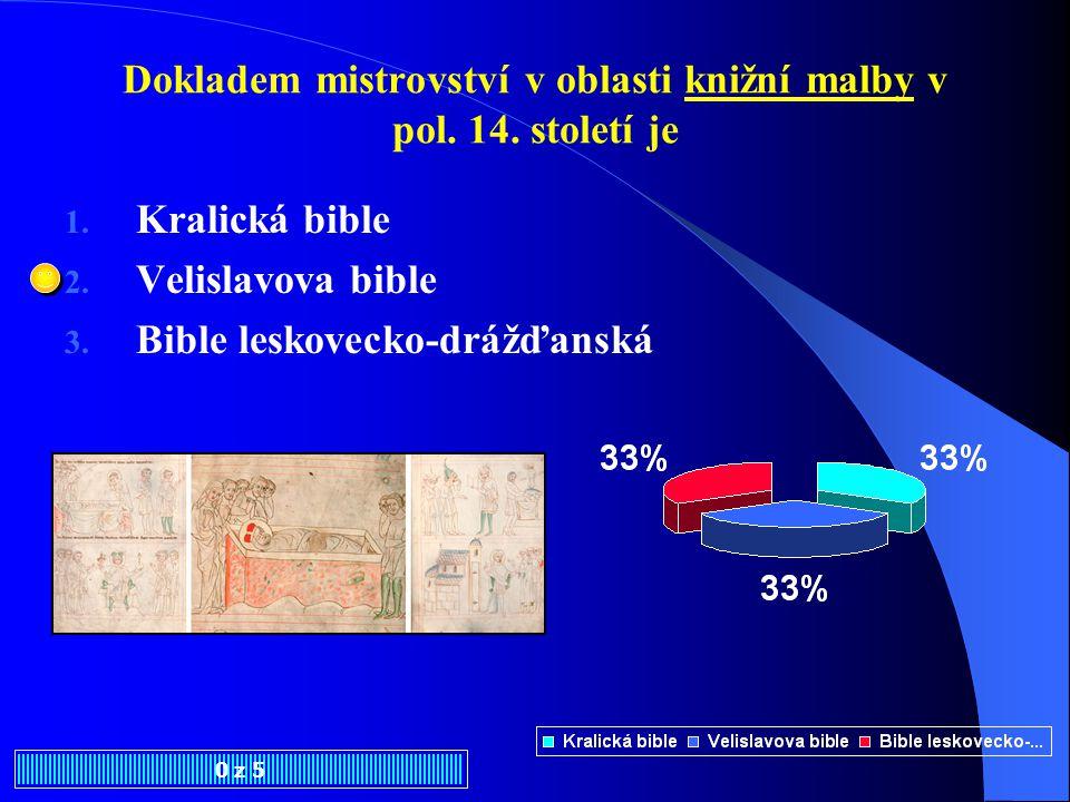 Dokladem mistrovství v oblasti knižní malby v pol.