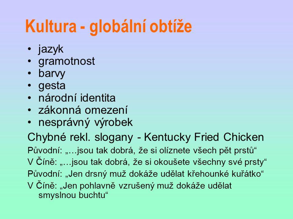 Kulturní rozdíly (trávení vol. času)