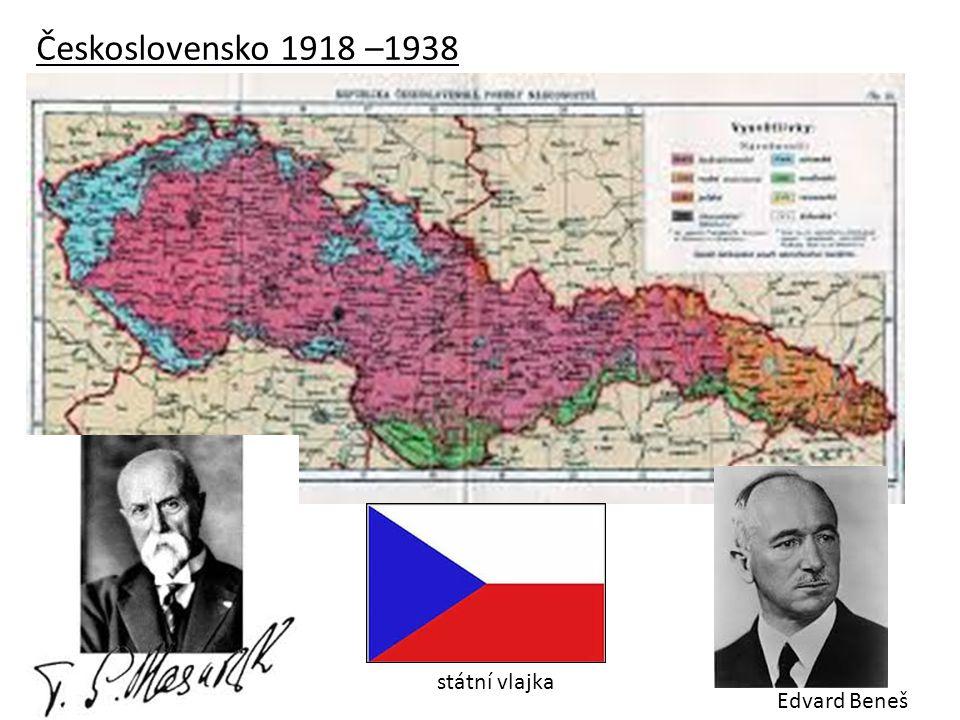 Národnostní složení Československa