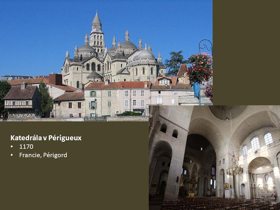 Katedrála v Périgueux 1170 1170 Francie, Périgord Francie, Périgord
