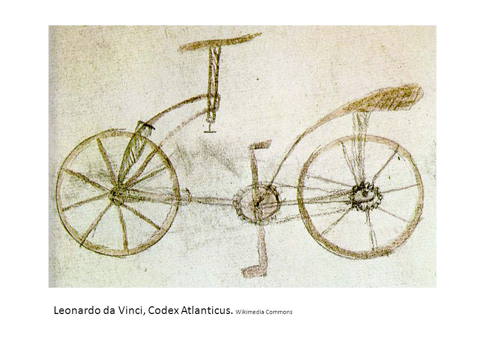 Leonardo da Vinci, Codex Atlanticus. Wikimedia Commons