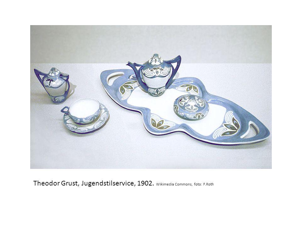 Návrhy secesních šperků, Victor Mayer.