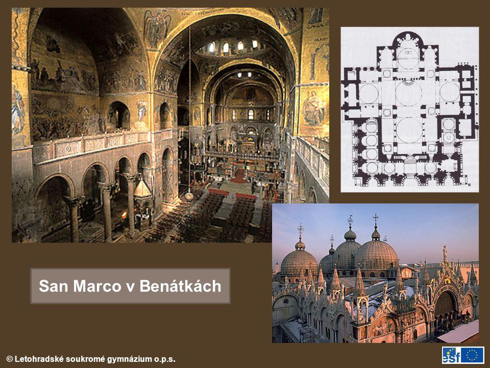 © Letohradské soukromé gymnázium o.p.s. San Marco v Benátkách