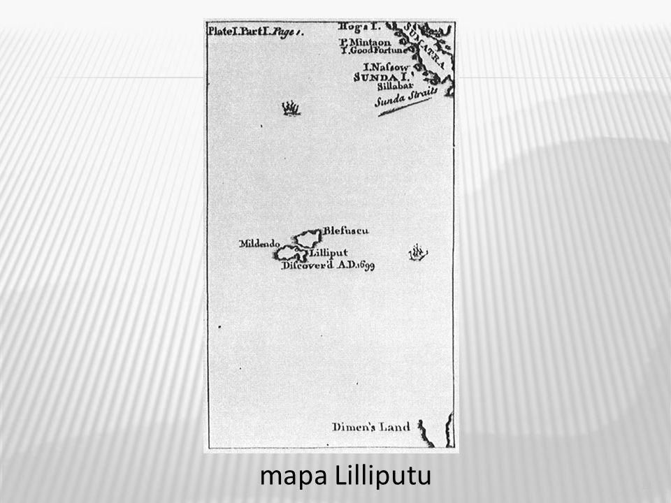 11 mapa Lilliputu