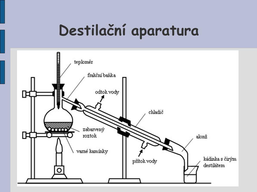 Destilační aparatura
