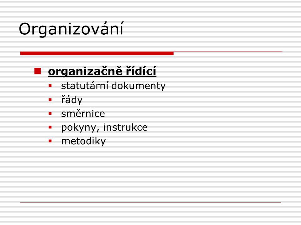 Organizování  na přelomu 19.a 20.