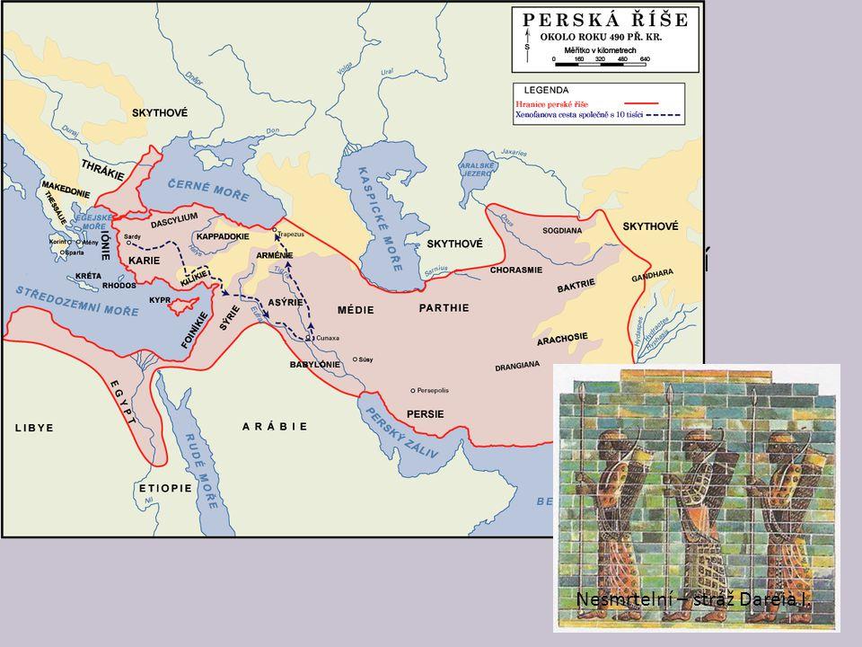 Peršané žili původně u Perského zálivu v dnešním Íránu v 6.