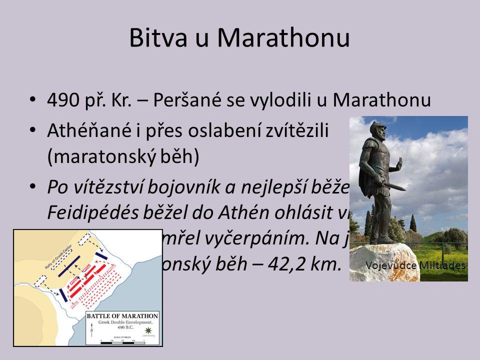 Bitva u Marathonu 490 př.Kr.