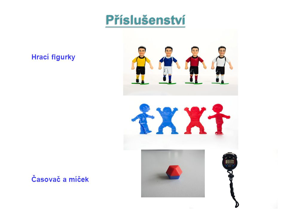 Hrací figurky Časovač a míček Příslušenství