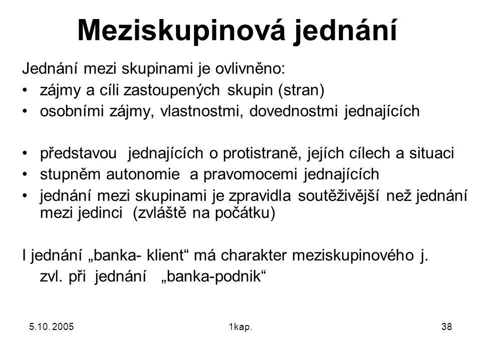 5.10.20051kap.39 Jednání s asistencí třetí strany -1 Třetí strana je ZPROSTŘEDKOVATEL Z.
