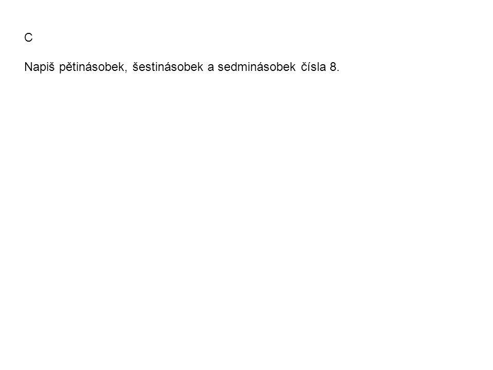 A Anička zjišťuje, která z čísla 279 a 285 jsou násobky čísla 9.