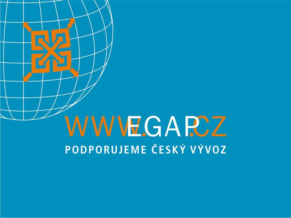 Nové směry v úvěrovém pojištění EGAP Nové směry v úvěrovém pojištění EGAP Ing. Pavol Parízek