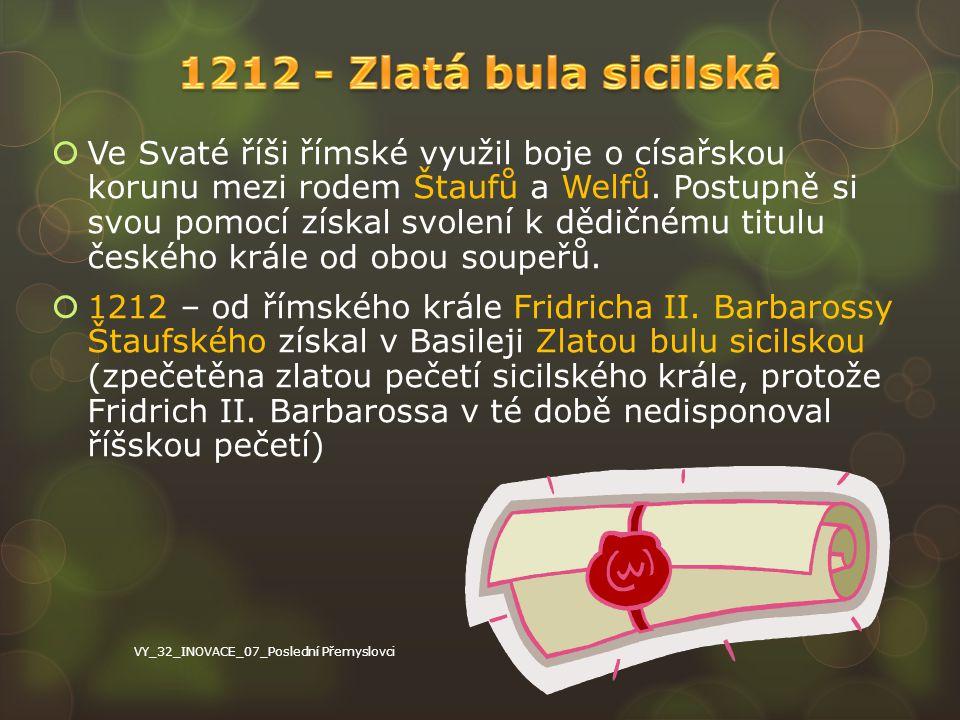 1.Český trůn je dědičný v rodě Přemyslovců.2.Titul přechází z otce na nejstaršího syna.