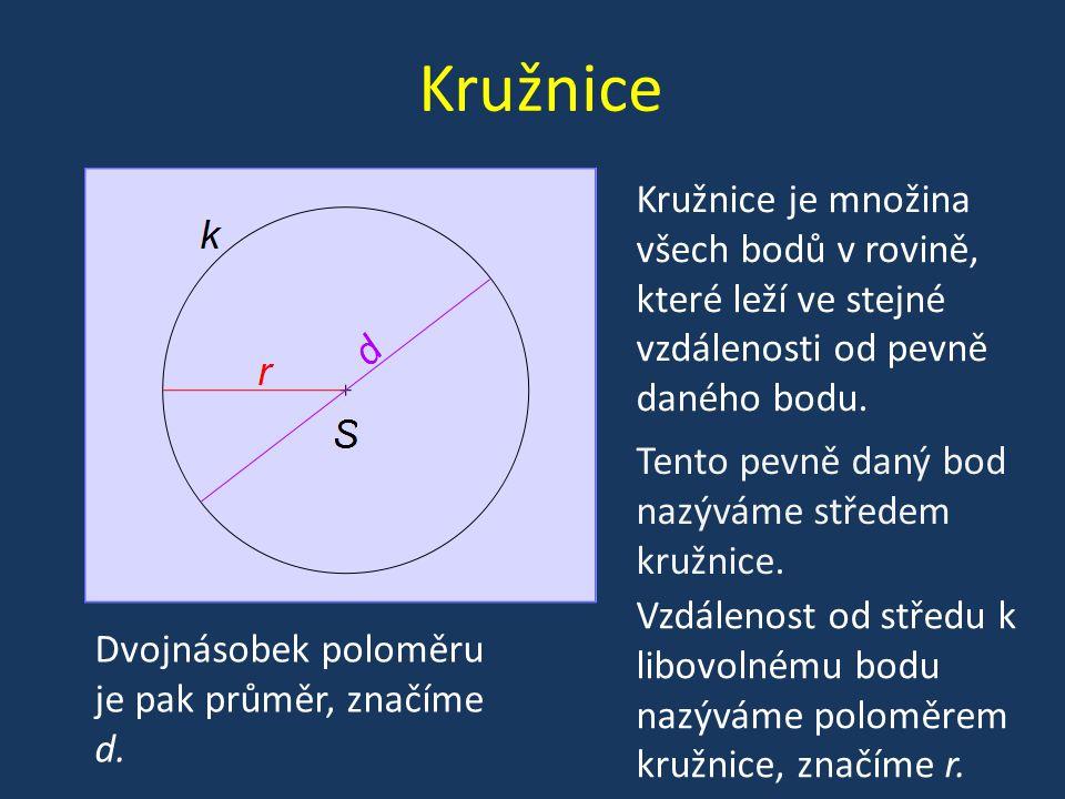 Kruh Kruh je rovinný geometrický útvar omezený kružnicí.