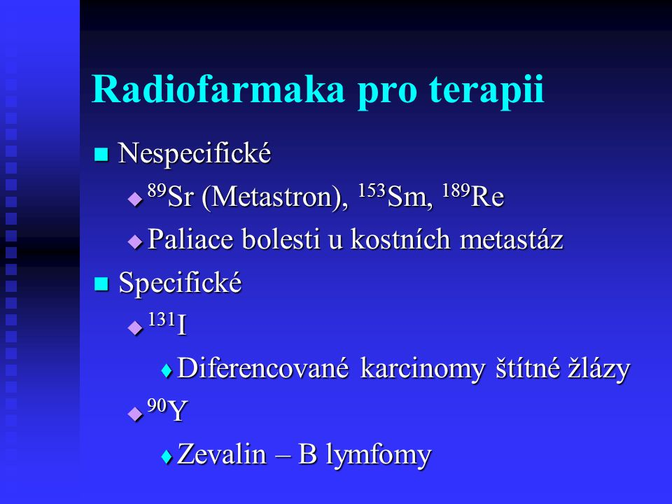 FDG PET http://www.homolka.cz/nm/ Pro většinu tumorů – staging a folow-up Pro většinu tumorů – staging a folow-up Hlavní indikace – lymfomy, plíce, melanomy, kolorektální a jiné Hlavní indikace – lymfomy, plíce, melanomy, kolorektální a jiné Není vhodná pro ca prostaty Není vhodná pro ca prostaty Příprava pacienta Příprava pacienta  Nejdříve 1 týden po chemo a 3 měsíce po radio  1 hod.