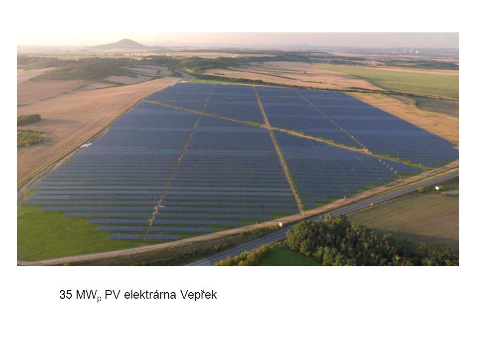 35 MW p PV elektrárna Vepřek