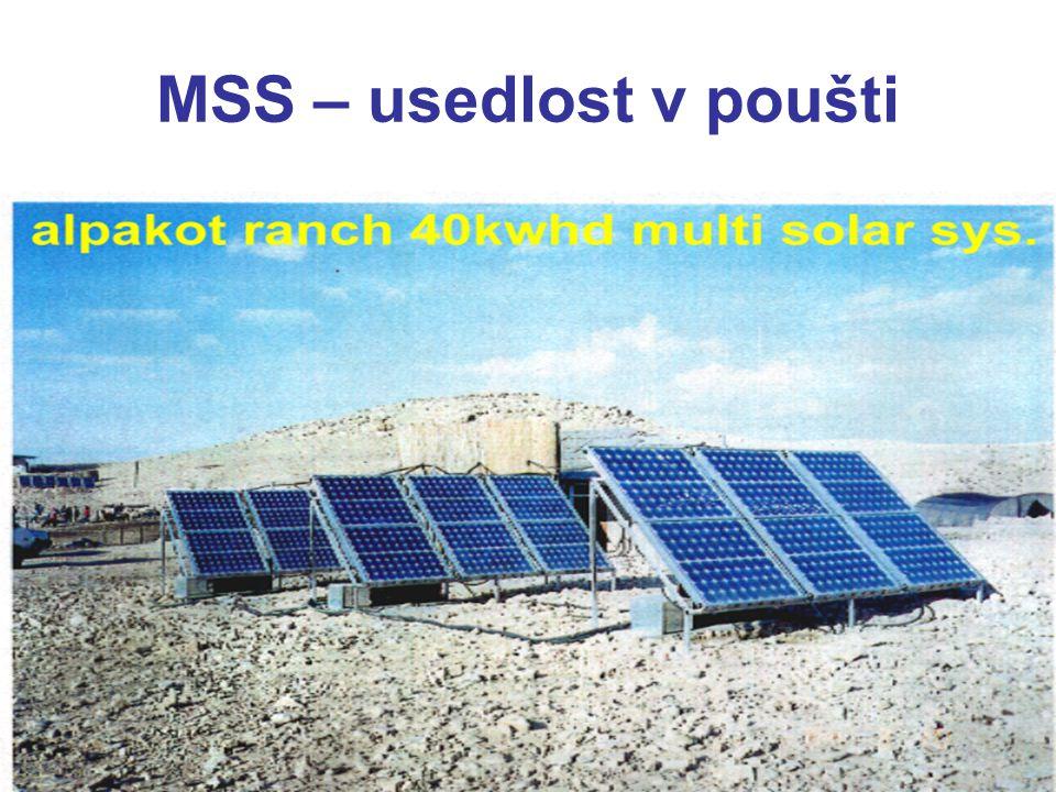 MSS – usedlost v poušti