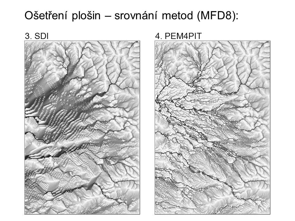 Ošetření plošin – srovnání metod (MFD8): 3. SDI4. PEM4PIT