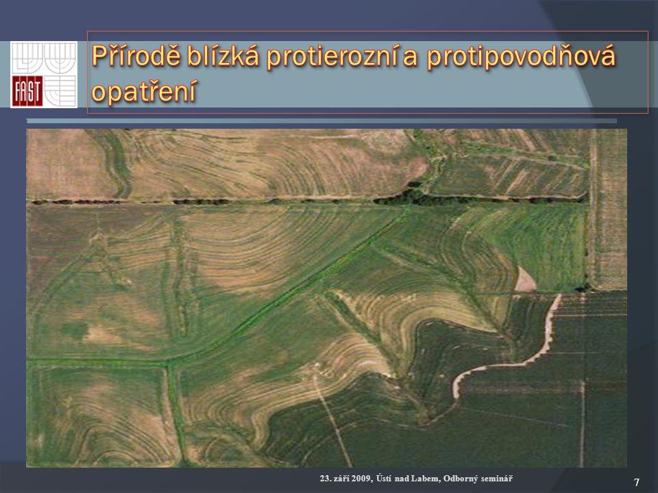 88 Tam, kde vygenerované hydrolinie drah akumulace soustředěného odtoku vnikají do zastavěné části obce, se stanoví tzv.