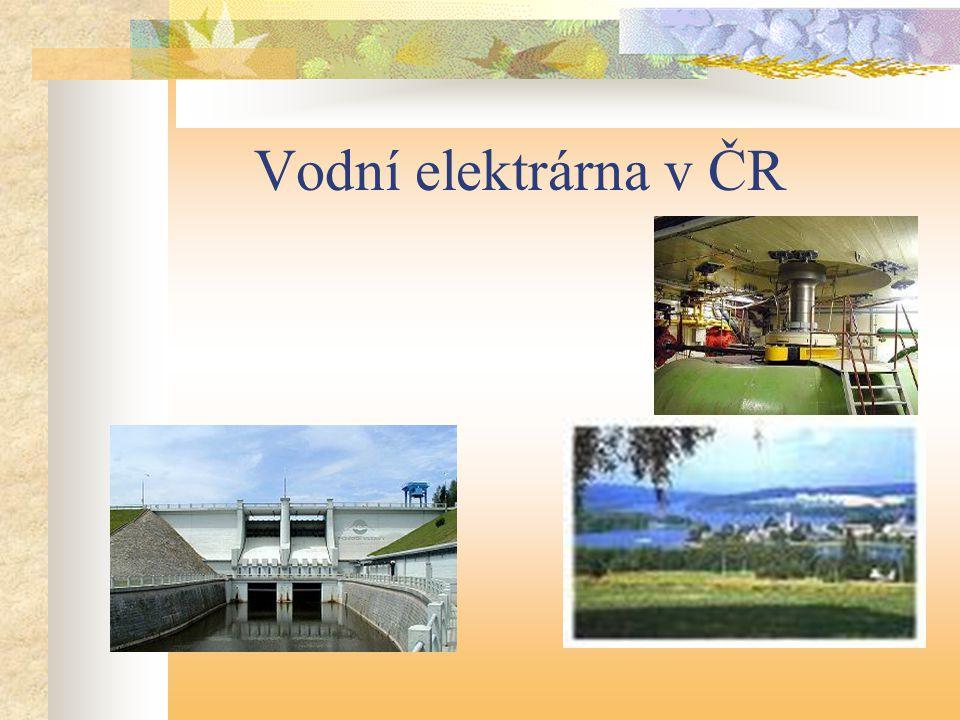Vodní elektrárna v ČR