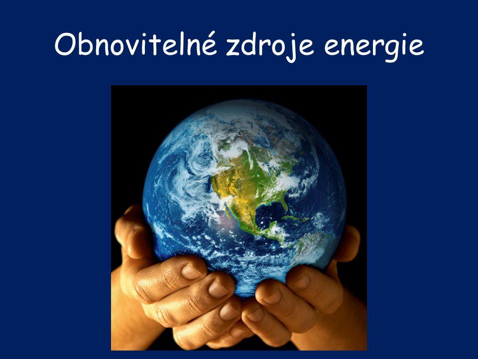 Jsou přírodní zdroje, které se při postupném spotřebování částečně nebo úplně obnovují, a to samy nebo za přispění člověka.