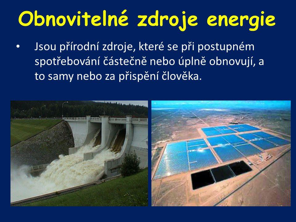 ENERGIE VODY Odedávna: k dopravě či dříve k pohonu vodního kola ve vodních mlýnech, pilách, hamrech.