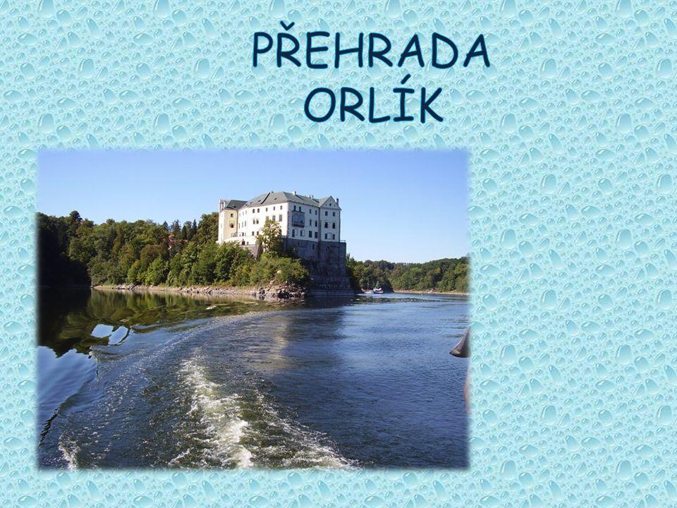 vodní elektrárna Orlík je stěžejním článkem vltavské kaskády.
