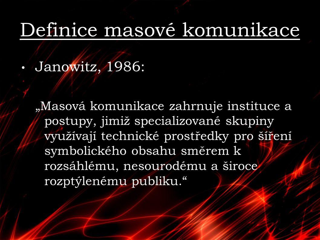 Denis MacQuail Jaká je kultura.Není tradiční. Není elitní.