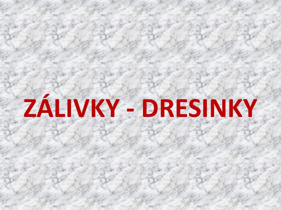 ZÁLIVKY - DRESINKY