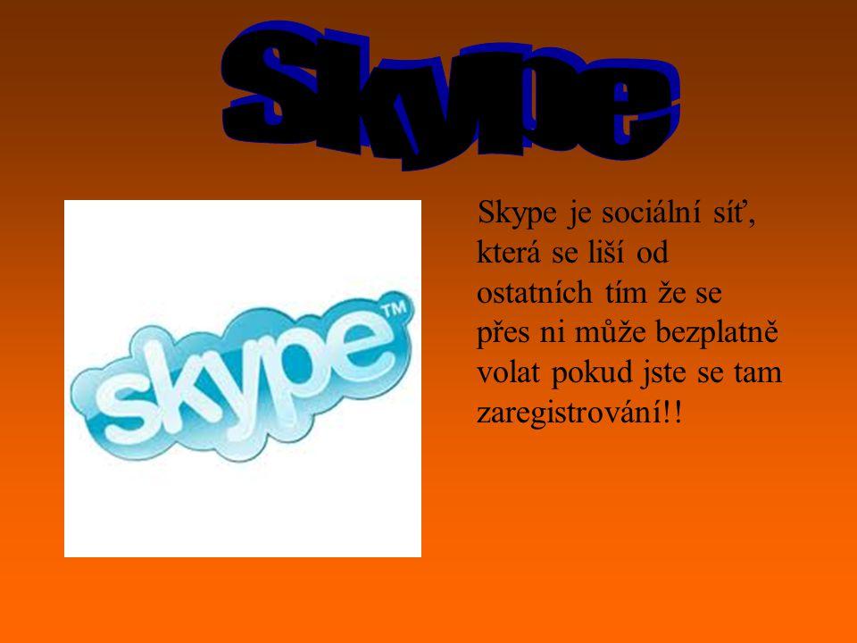 Nechodtě na žádné sociální sítě!! Jako je: Facebook,Myspace,Twitr,skype