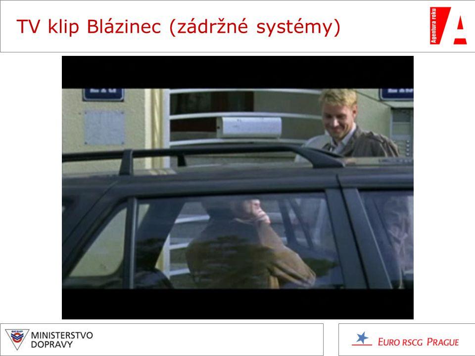 TV klip Blázinec (zádržné systémy)