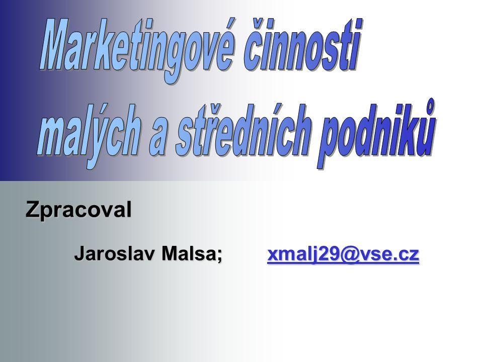 Zpracoval Jaroslav Malsa;xmalj29@vse.cz xmalj29@vse.cz
