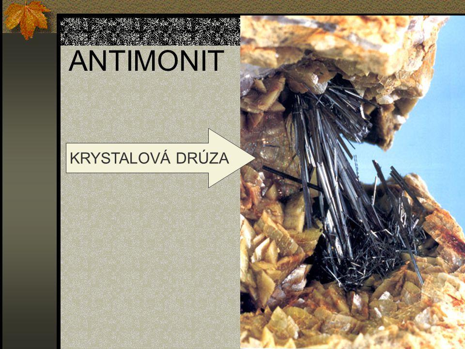 ANTIMONIT KRYSTALOVÁ DRÚZA