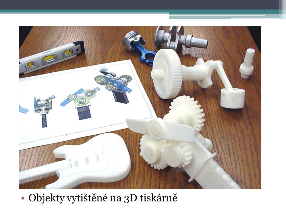 Objekty vytištěné na 3D tiskárně