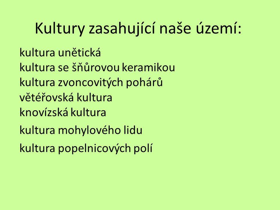 Zápis Doba bronzová v Čechách 2 200 – 800 p.n.l.