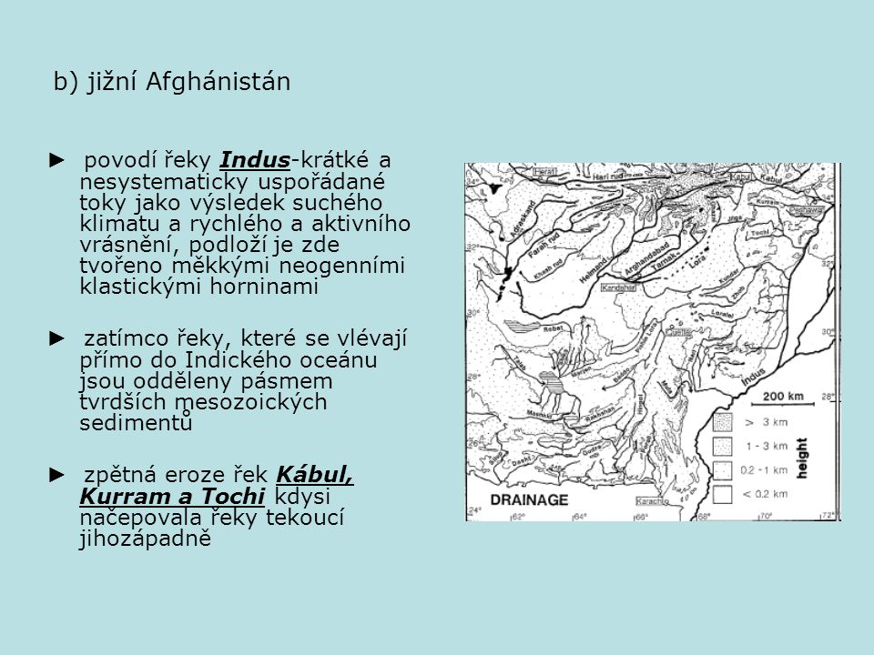 2) Tibet a jižní Asie