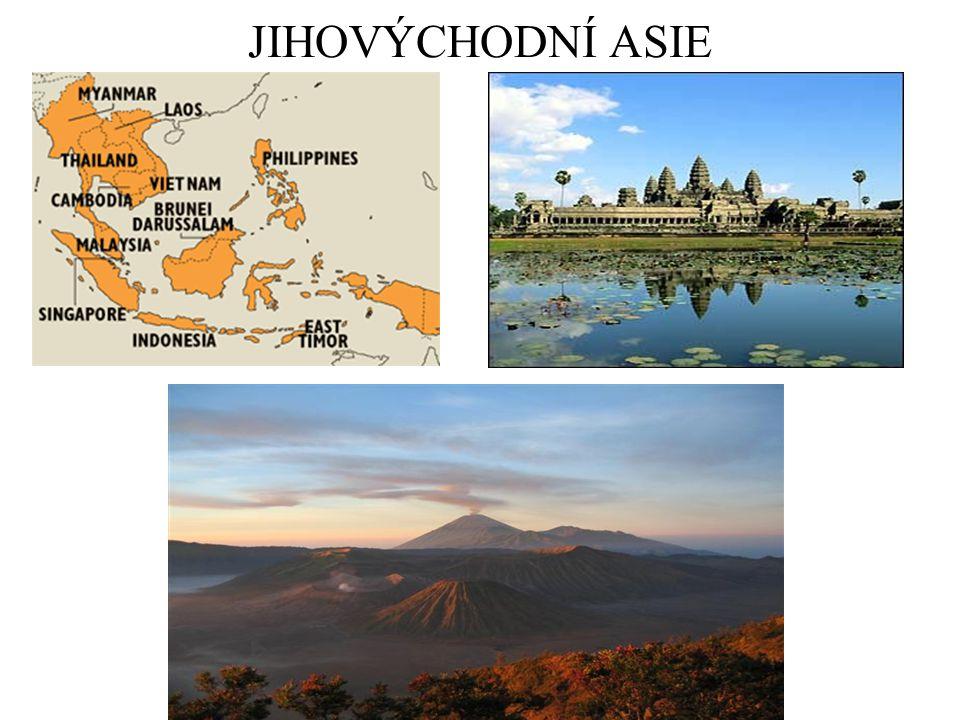 I.Přírodní podmínky Pevninská část: Zadní Indie, Malajský pol.
