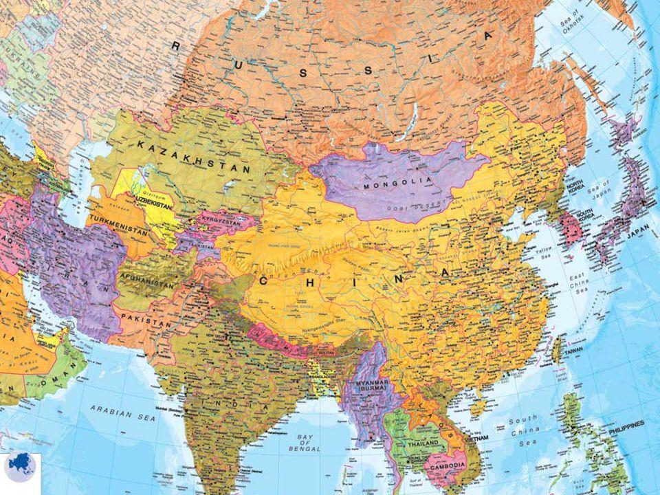 Rozdělení Asie Jihozápadní Asie Jižní Asie Jihovýchodní Asie Východní Asie Centrální Asie