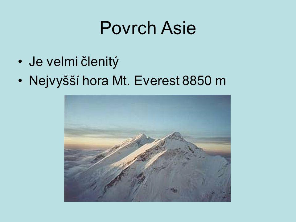 Pohoří Himálaj Pás pohoří Malá Asie – Kavkaz Pamír Ťan -šan
