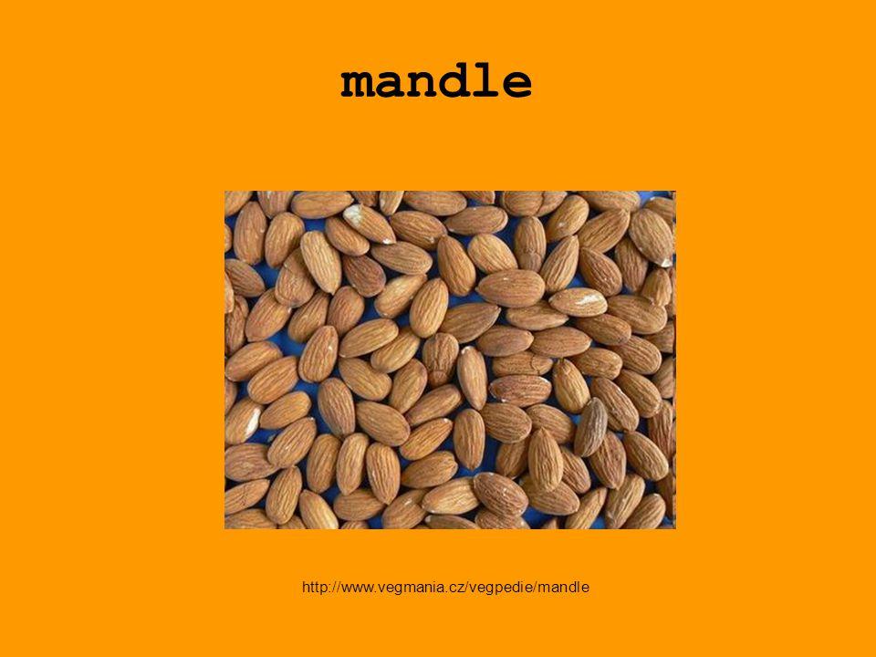 mandle http://www.vegmania.cz/vegpedie/mandle