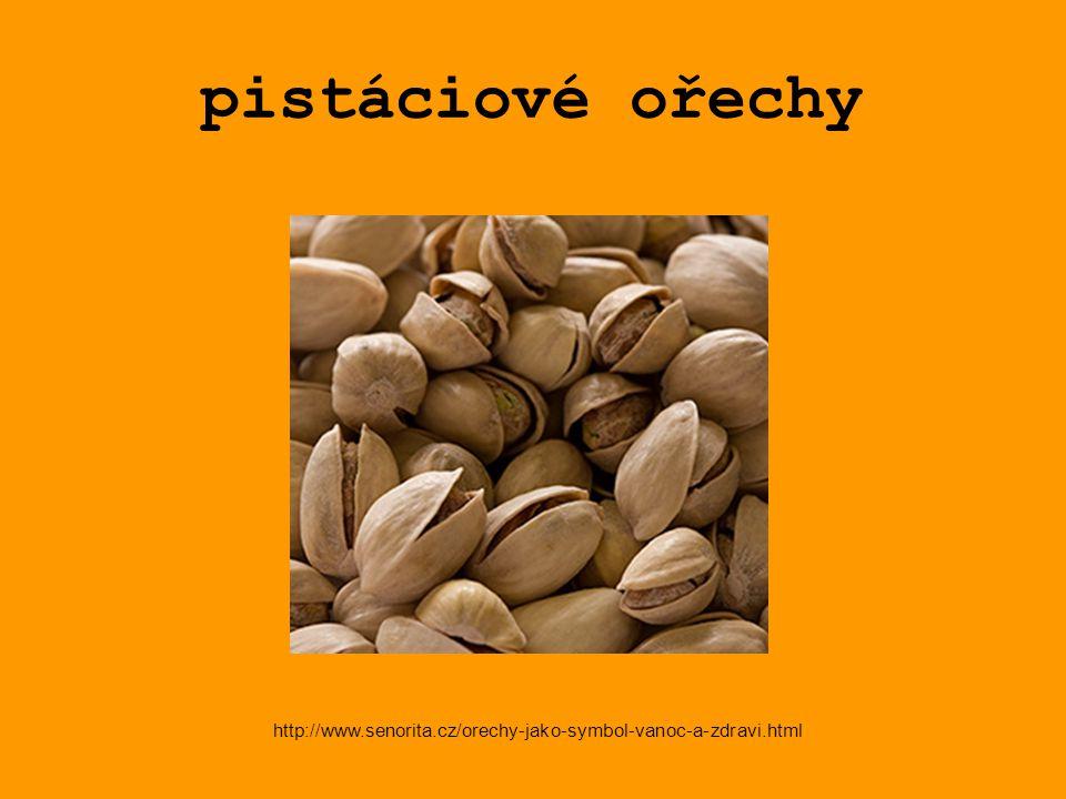 pistáciové ořechy http://www.senorita.cz/orechy-jako-symbol-vanoc-a-zdravi.html