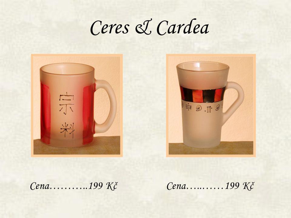 Ceres & Cardea Cena………..199 Kč Cena…..……199 Kč