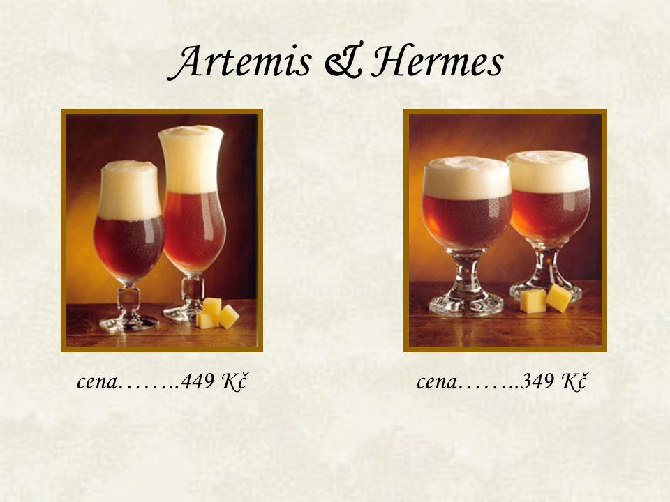 Artemis & Hermes cena……..449 Kč cena……..349 Kč
