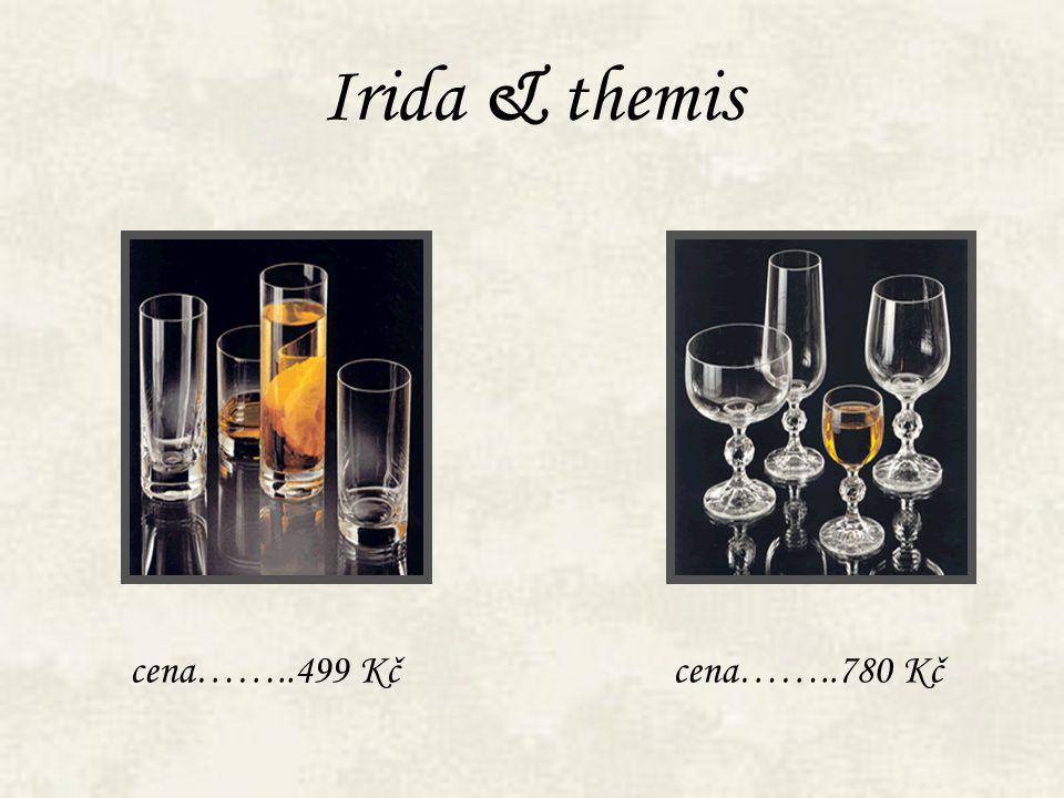 Irida & themis cena……..499 Kč cena……..780 Kč