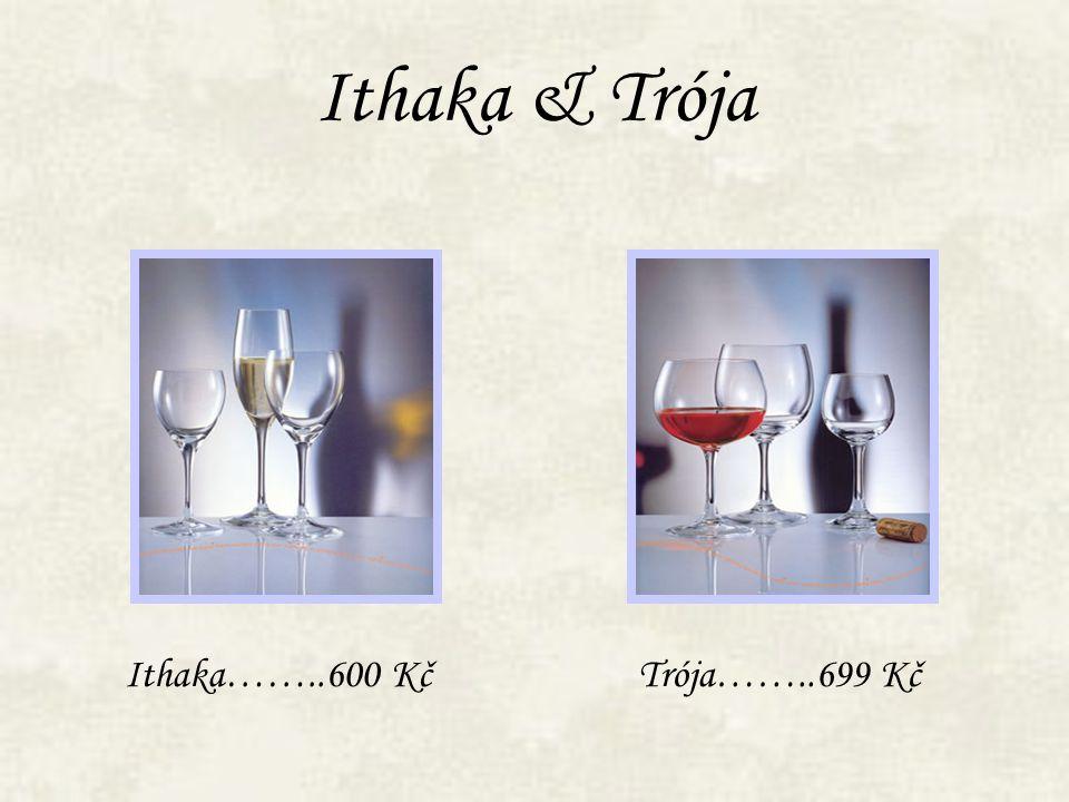 Ithaka & Trója Ithaka……..600 KčTrója……..699 Kč