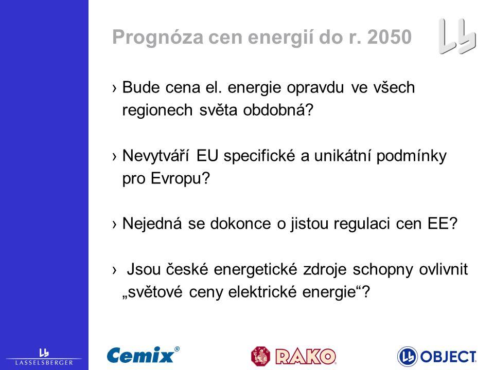 ›Bude cena el. energie opravdu ve všech regionech světa obdobná.