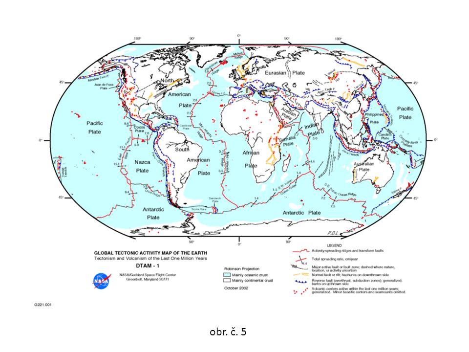 místo vzniku zemětřesení = ohnisko(hypocentrum) ohniska se všemi směry šíří zemětřesné vlny místo na povrchu Země, kam z hypocentra dochází nejvíce energie (místo postižení)= epicentrum obr.