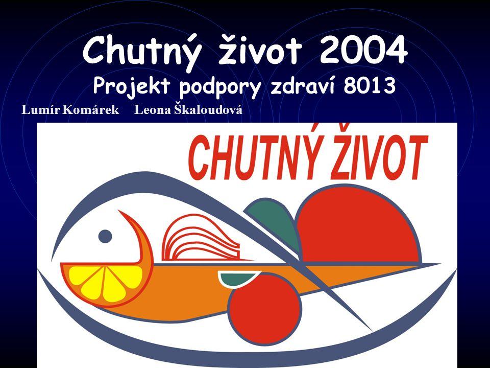 Chutný život 2004 Projekt podpory zdraví 8013 Lumír Komárek Leona Škaloudová