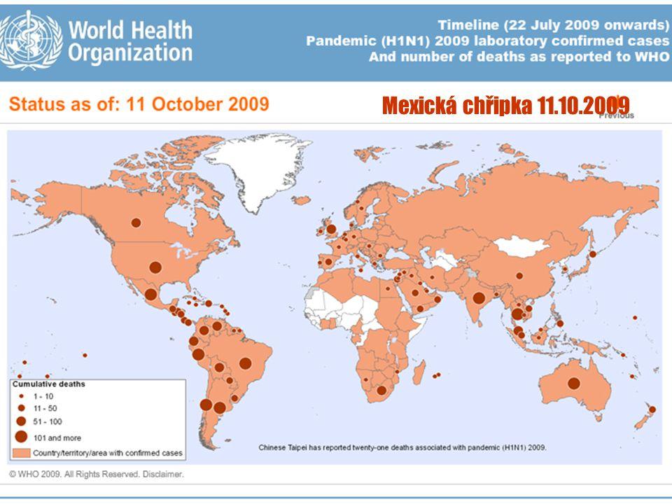 27 Mexická chřipka 11.10.2009